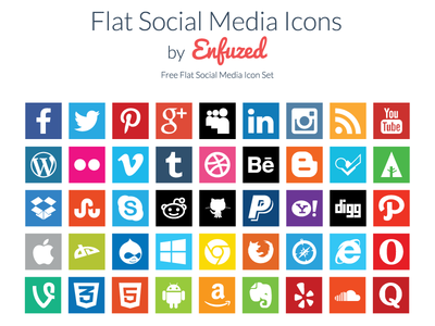 free-flat-social-media-icons-enfuzed_1x