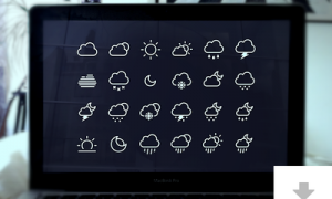 24_weather_icons_robin_kylander_dribbble_superstoked_burt_psd_freebie_1x