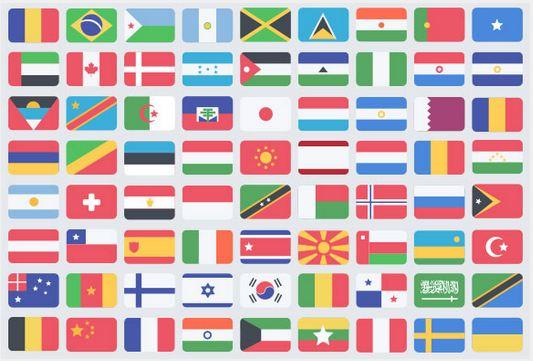 Flat Flag Icons